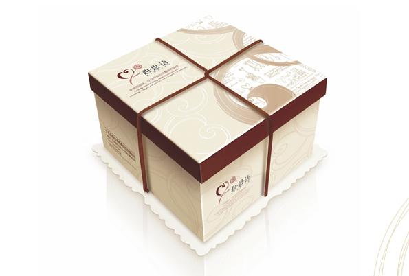 方形蛋糕盒设计